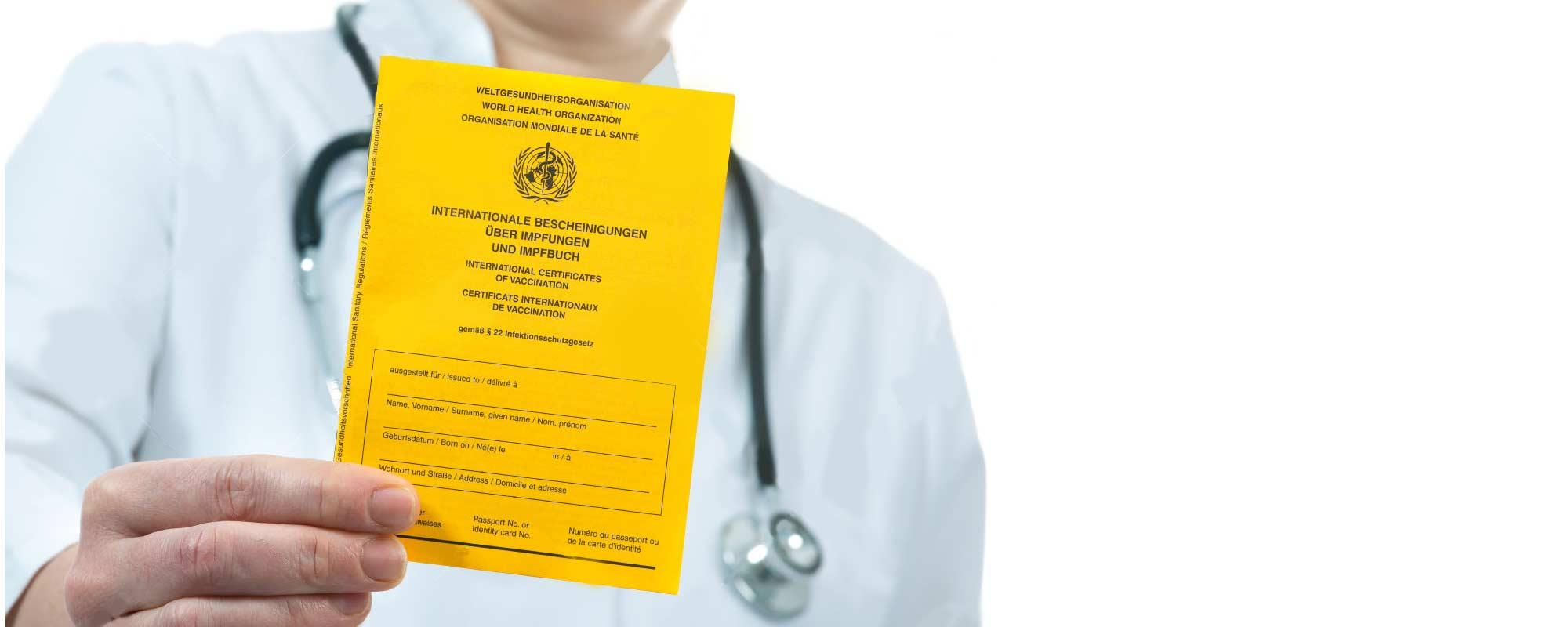 Vacunación para el viajero internacional